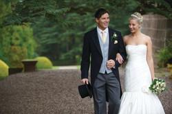 Wedding suit hire black tail