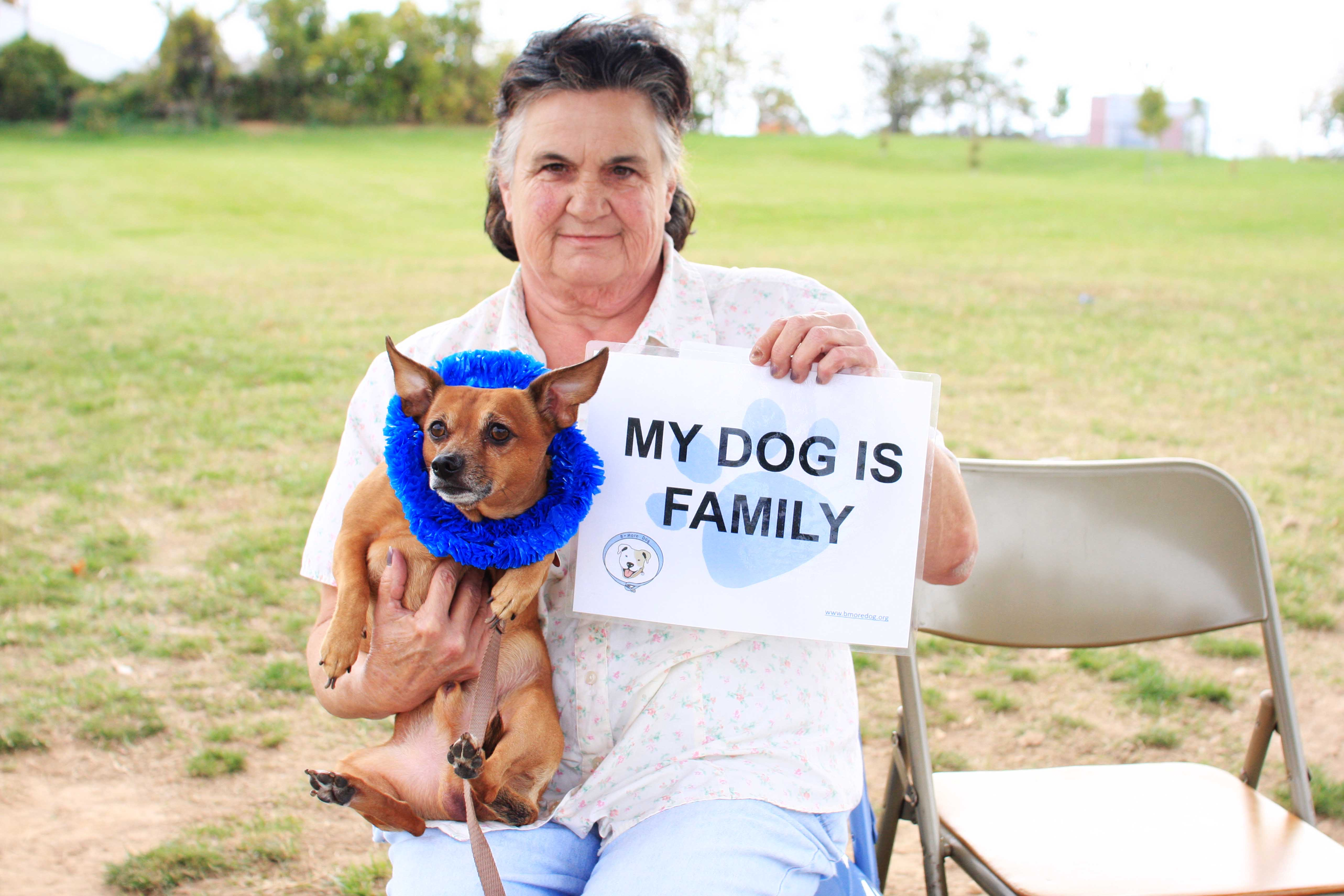 Homeless My Dog is my Family