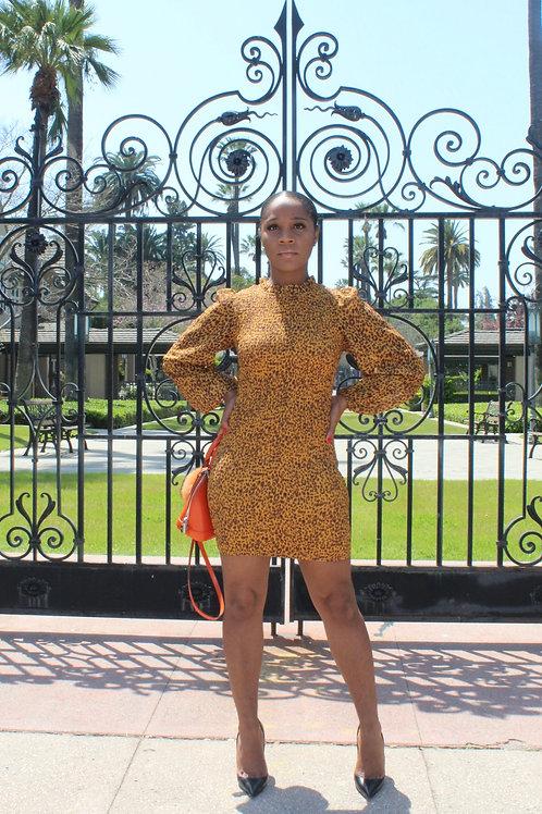 Leopard Party Mini Dress