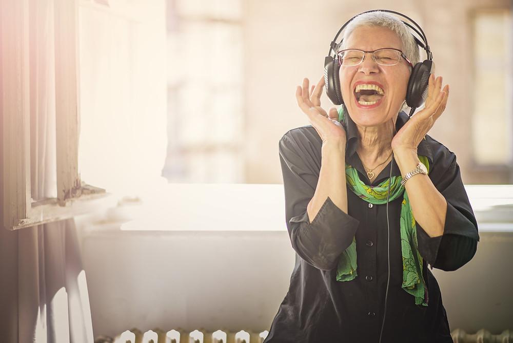 music benefits for seniors homecare california