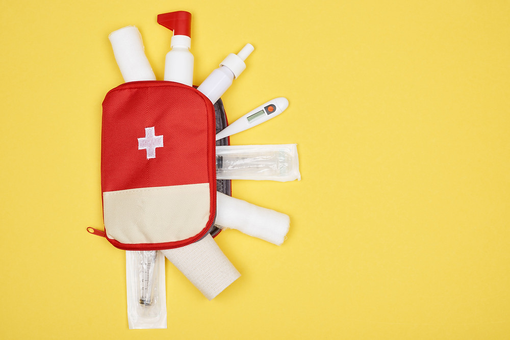 first aid kit homecare california tips