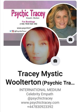 Psychic Tracey Woolteron