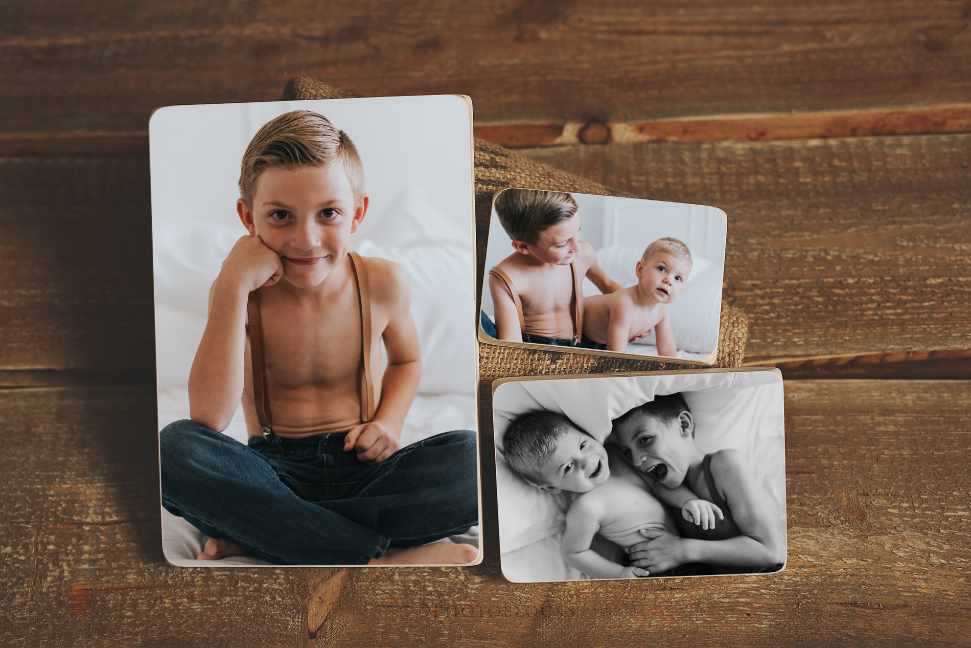 THREE PACK PHOTOBLOCKS