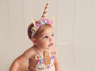 Riley's Magical Unicorn Milestone Session | Brentwood, Ca Photographer | Brittany Deacon Photogr