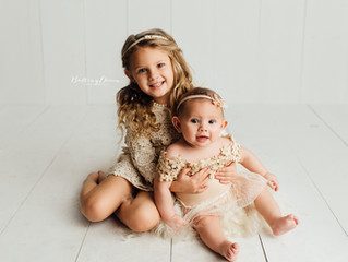 {Layla + Elliana, A Sitter Session}  Brentwood, Ca Newborn + Family Photographer | San Francisco Bay