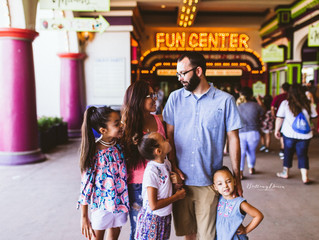 {Hawkins Family} Santa Cruz, California | Santa Cruz Beach Boardwalk | Bay Area Lifestyle Photograph