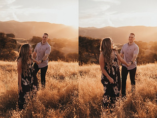 Sara + Jeff | An Engagement Session | Bay Area Couples Photographer | Brentwood, CA | Brittany Deaco