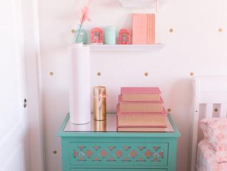 Isla's Room, DIY Project: DOTS, Discovery Bay Newborn and Family Photographer, Bay Area Photogra