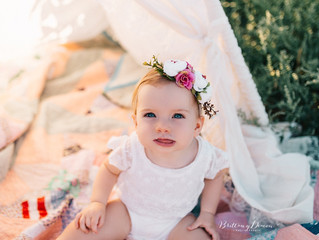 Macie is ONE! Brentwood Family Photographer, Brentwood Photographer, Brentwood, California, Brittany