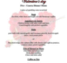 valentine s english menu 2020 for Web Si