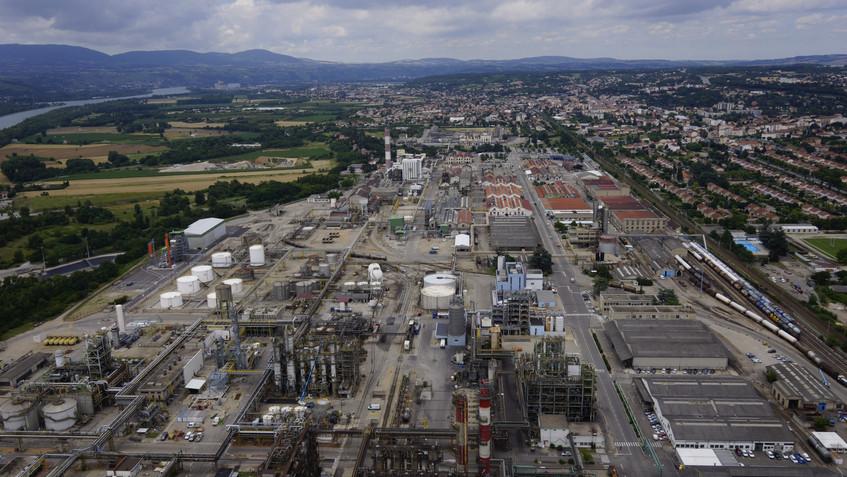 Site industriel Seqens du Roussillon