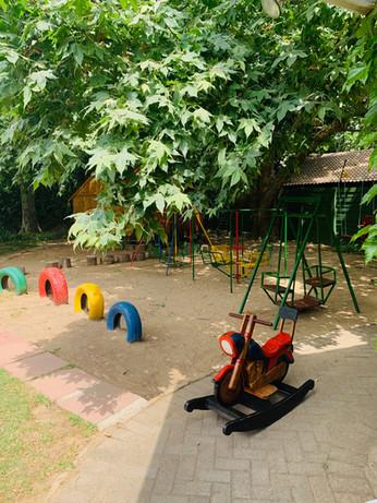 Lower playground