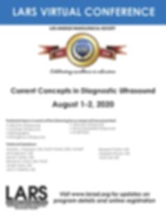 LARS 2020 CCDU Flyer