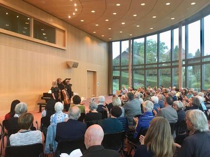 20 Jahre Schweizer Klaviertrio Schlussapplaus