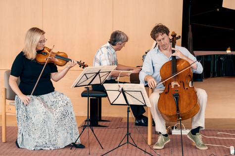 Schweizer Klaviertrio - Vorprobe
