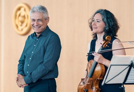 Judith Ingolfsson und Vladimir Stoupel