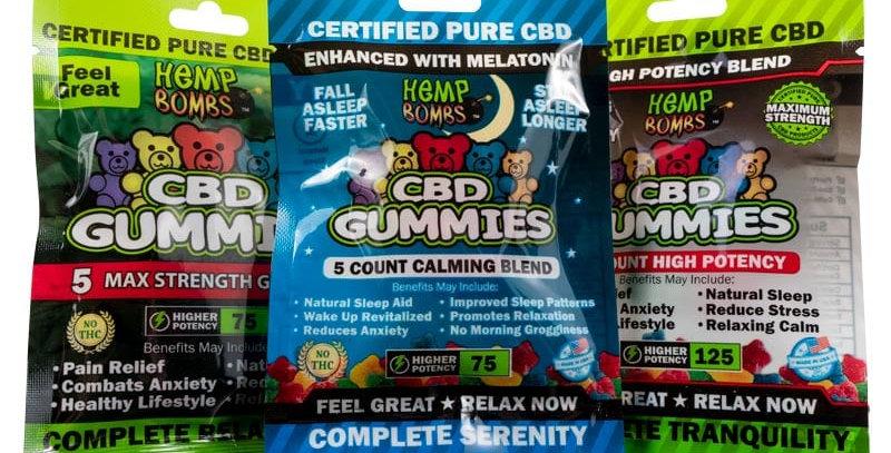 CBD-Gummies Sample Pack