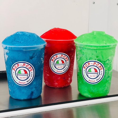 Variety Pack (3 Quarts) of Italian Shaved Ice
