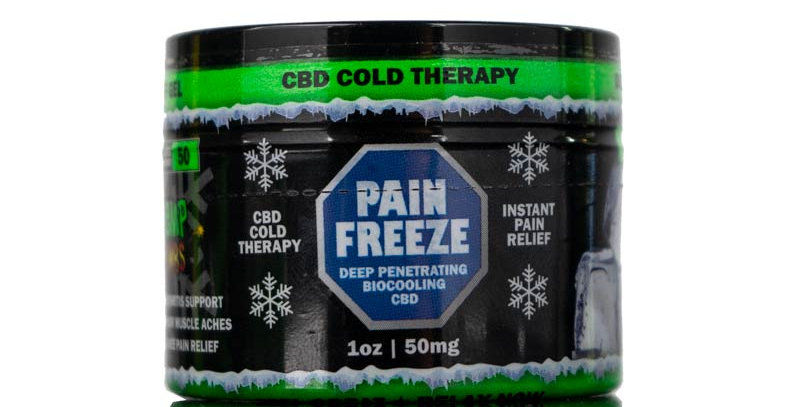 CBD Pain rub 1oz 50mg
