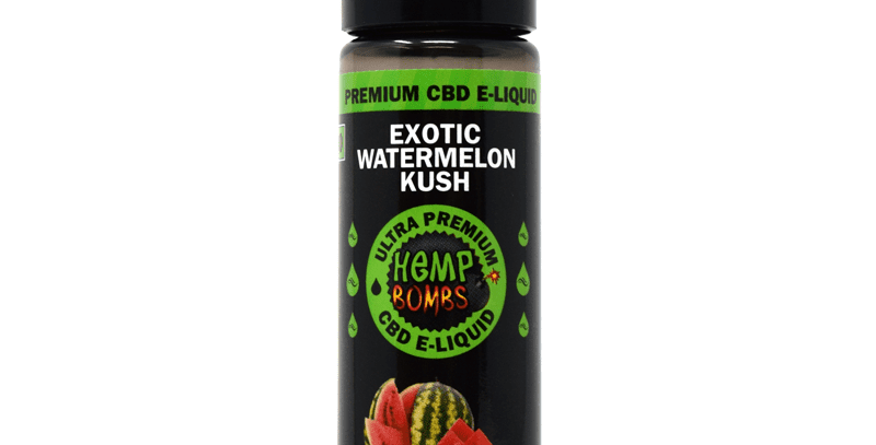 CBD-300mg E-Liquid-Watermelon 60ml
