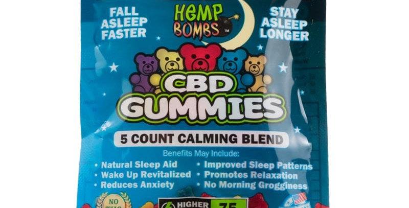CBD Sleep Gummies 5-count (Melatonin)