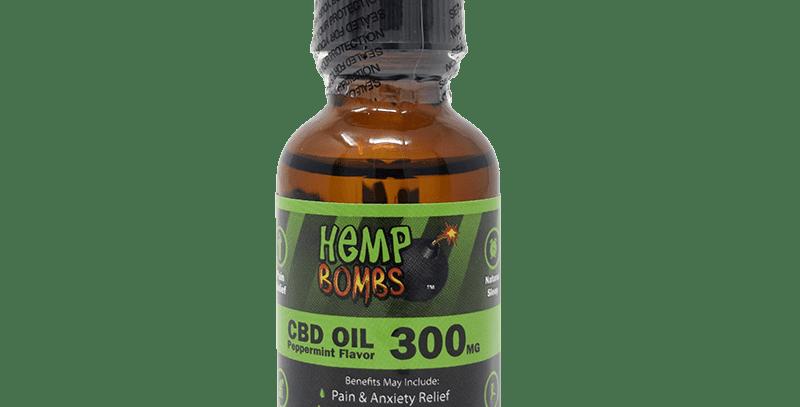 300mg CBD OIL (Hemp Bombs)