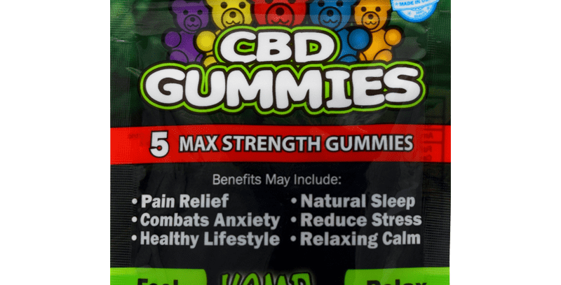CBD Gummies 5-count