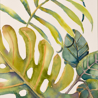 """Tropical Leaves #2"""