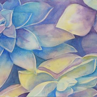 """Blue Study"""
