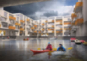 Brekstad kayak housing