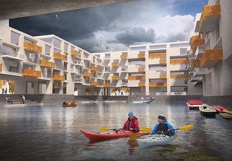 Brekstad kayak housing