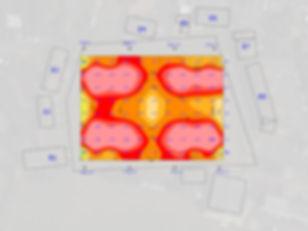 Pitch Fixed mast Plan illuminance Grid.j