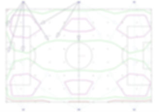 Sports pitch lighting football pitch aimings and illuminance contours