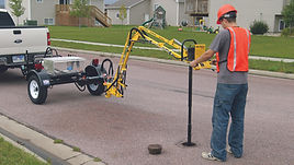 Hurco's vertical valve exerciser with up to 800 ft lbs of torque.