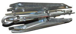 Multi size gauge frame