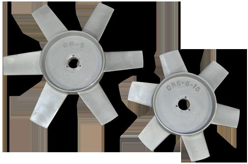 Cast aluminum impellers