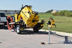 Hydro excavator with ERB800