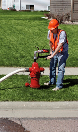 HH200 on hydrant