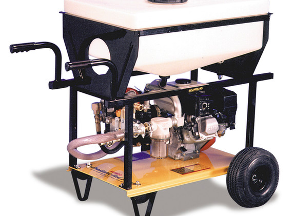 Twin Diaphragm Test Pump with 20 Gallon Tank - 9.5 GPM and 580 PSI
