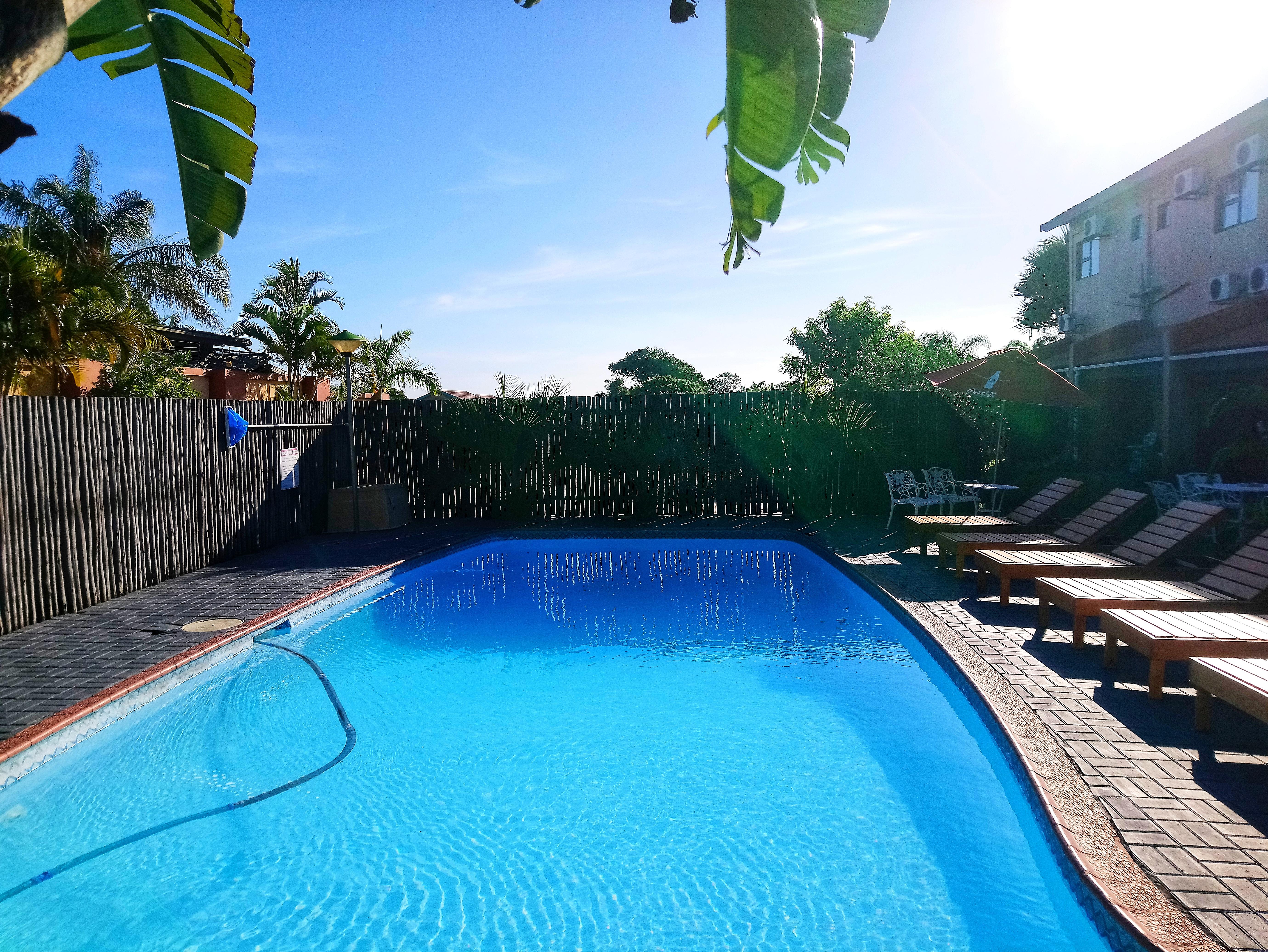 St Lucia Lodge Pool