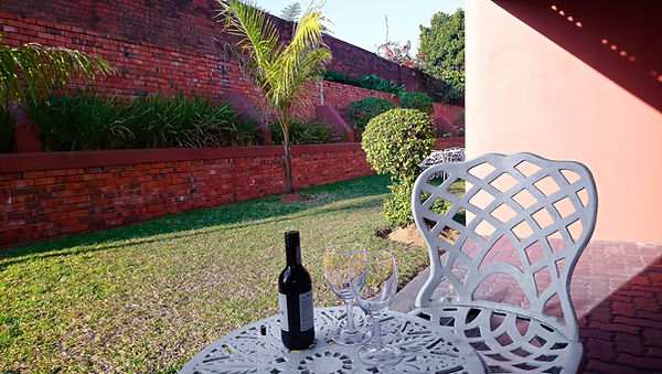 st lucia lodg outside garden room