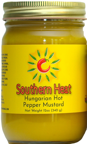Hungarian Hot Pepper Mustard