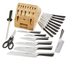 Best knife set from Amazon with sharpener Cyber Monday DEal