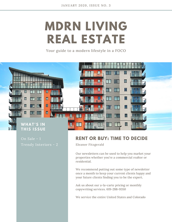 Real Estate Condos and Multi-Family Homes