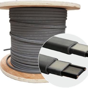 Неэкранированный кабель для обогрева водостоков,труб, резервуаров, площадей