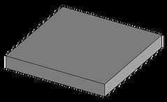 Плитка гладкая 400х400х50.png