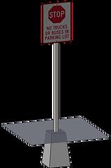 Блоки под металлические профили применен