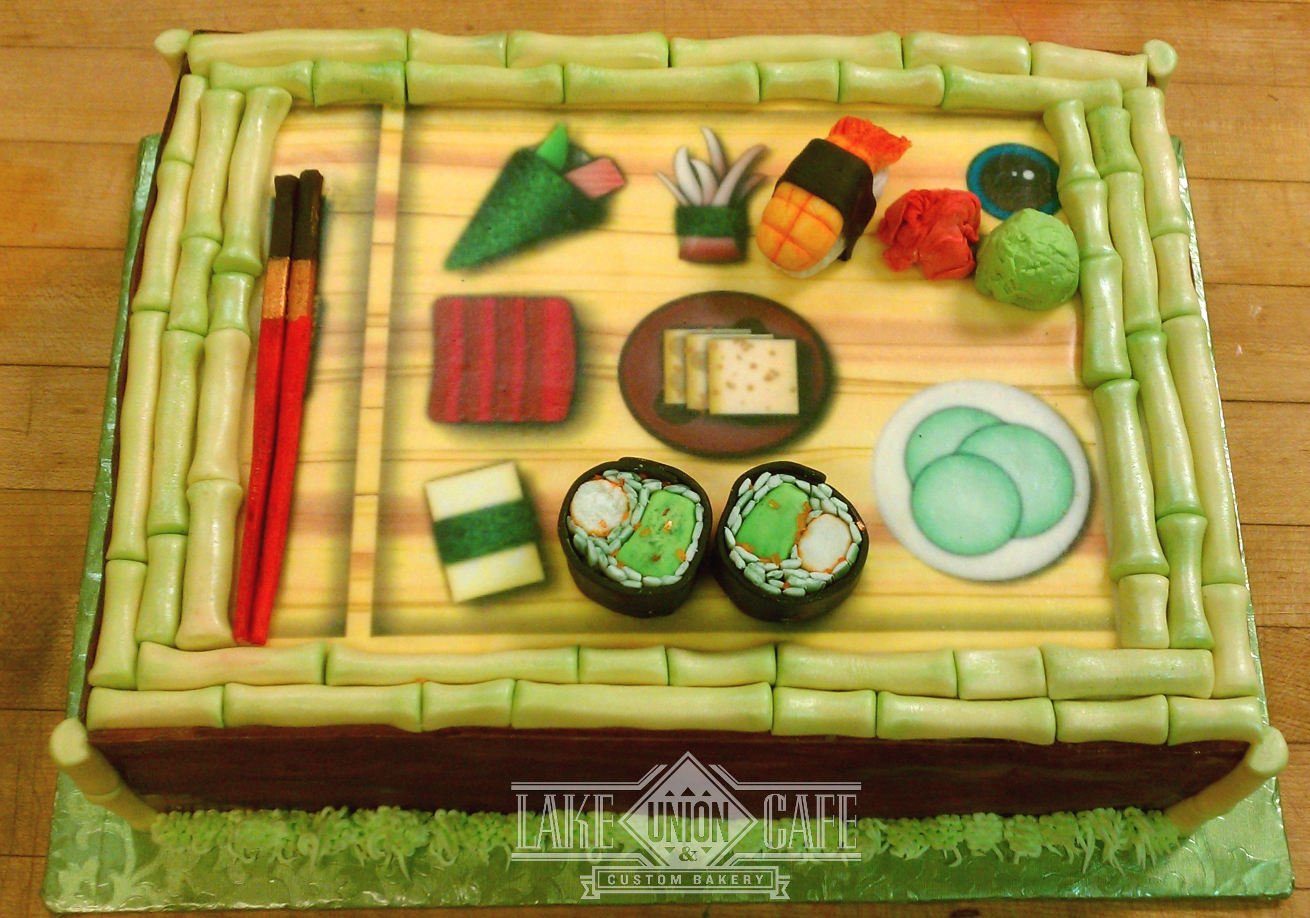 Specialty Sushi Cake