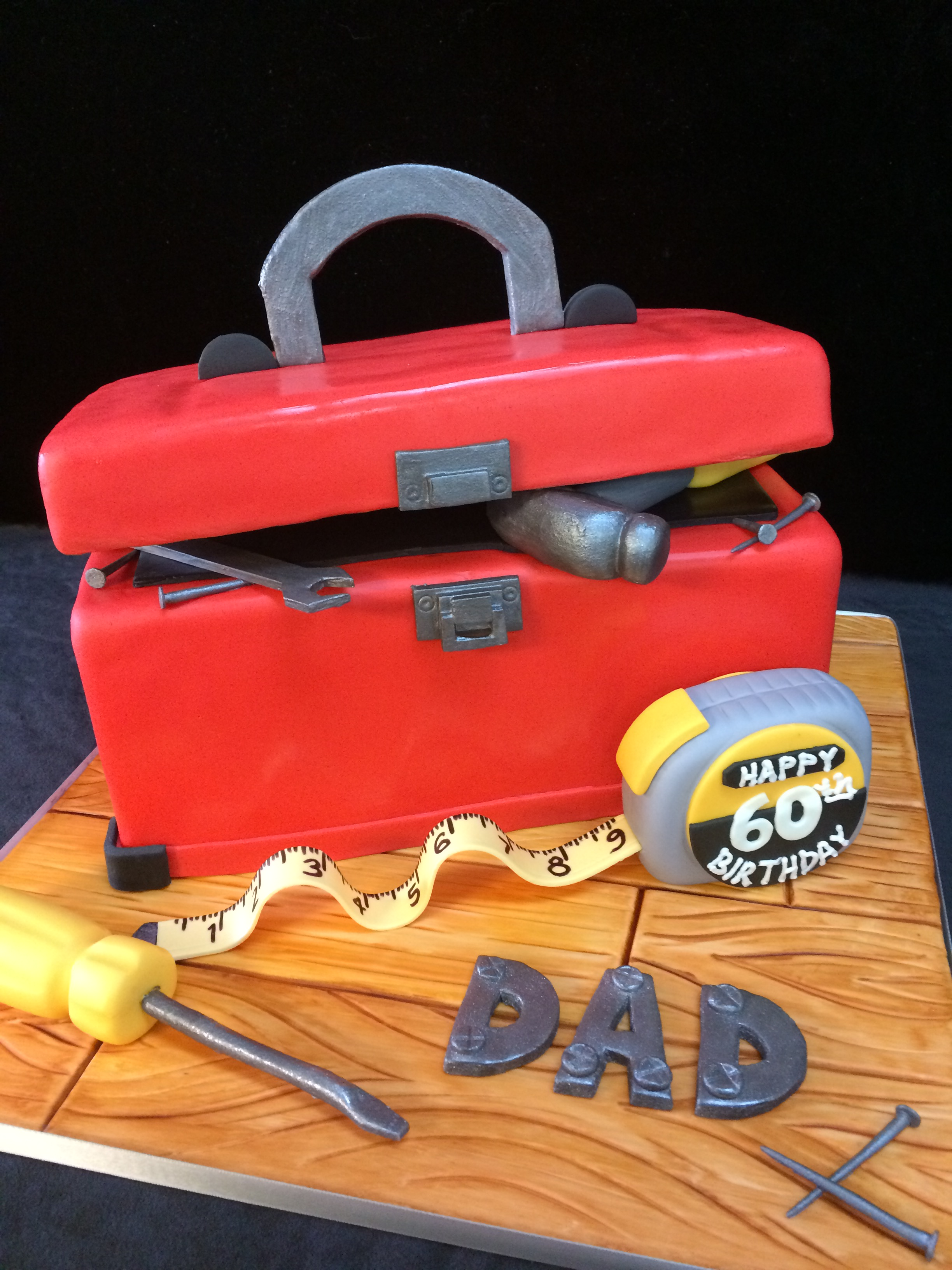 Specialty Toolbox Cake