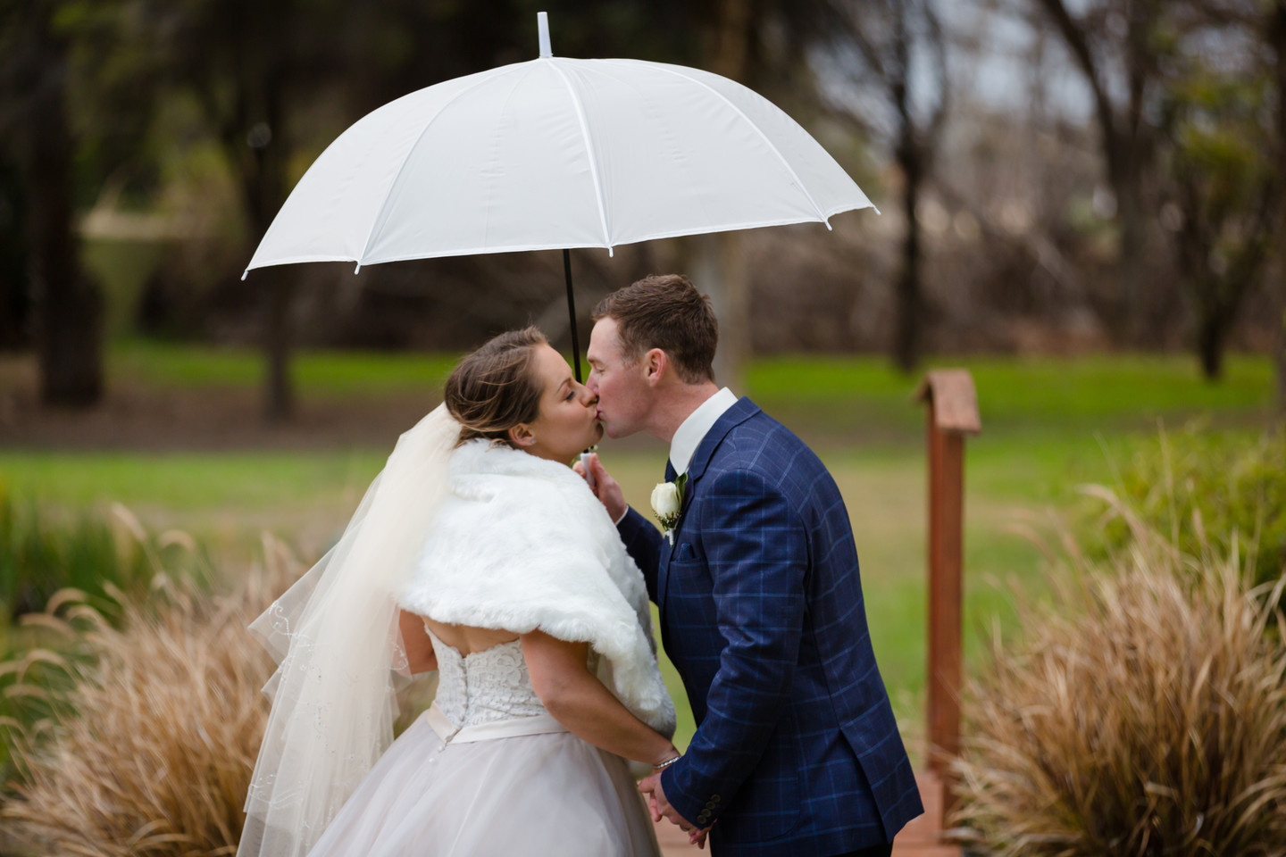 Raining wedding day Rebel Heart Photography